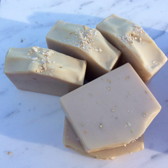 Handmade Artisan Soap | Honey, Oats & Goat Milk Soap for Sensitive, Dry & Itchy Skin (Set of 2)