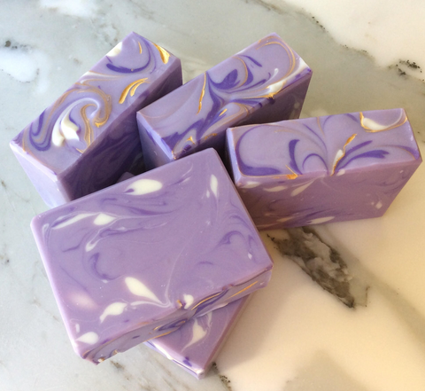 Handmade Artisan Soap | Strawberries & Champagne Soap (Set of 2)