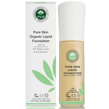 PHB Ethical Beauty | Organic Liquid Foundation SPF30 : Medium Rose