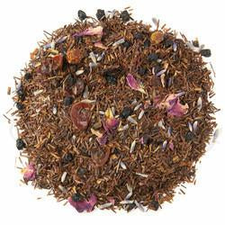 Organic Roman Rooibos. This lovely Rooibos is full of fruity notes balanced with floral lavender and packed with antioxidants.