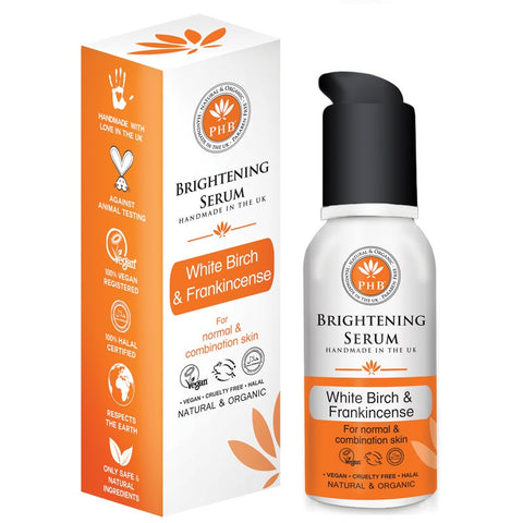 PHB Ethical Beauty | Brightening Gel Serum, face serum for normal and combination skin