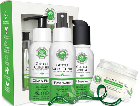 PHB Ethical Beauty | Gentle Skin Care Set, sensitive skin