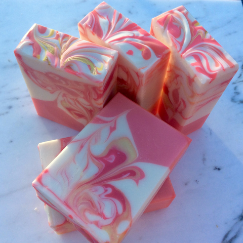 Handmade Artisan Soap | Rose and Geranium Soap (Set of 2)