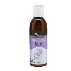 Wild Baby | Wild Organic Baby Lotion natural and organic baby lotion for sensitive skin, to hydrate and moisturize