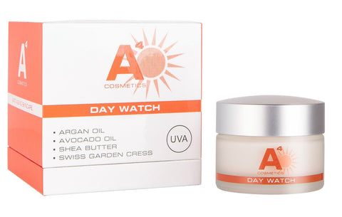 The Organics Boutique | A4 Day Watch SPF20 Sun Screen with box