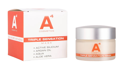 The Organics Boutique | A4 Triple Sensation Mask with box