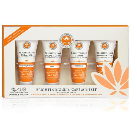 PHB Ethical Beauty | Brightening Skin Care Travel Kit