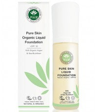 PHB Ethical Beauty | Organic Liquid Foundation SPF30 : Cream