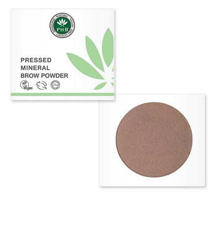 PHB Ethical Beauty | Eyebrow Powder: Ash Blonde- Natural eyebrow product, no animal testing