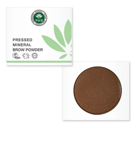 PHB Ethical Beauty | Eyebrow Powder: Brunette, vegan, smudge proof, no animal testing