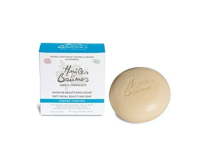 Huiles et Baumes Soft Facial Beauty Bar Soap for face and body