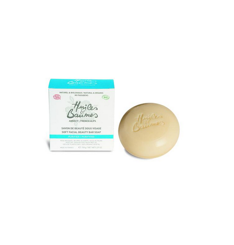 Huiles & Baumes | Soft Facial Beauty Bar Soap with essential oil