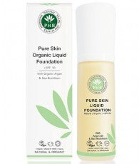 PHB Ethical Beauty | Organic Liquid Foundation SPF30 : Fair Beige