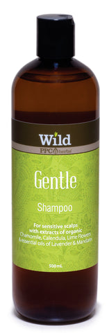 Wild PPC | Gentle Hair Shampoo for Sensitive Scalps with essential oil, great for children and pet