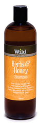 Wild PPC | Herbs & Honey Hair Shampoo for Normal to Dry Hair- 500ml