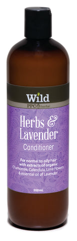Wild PPC | Herbs and Lavender Hair Conditioner for Normal to Oily Hair- 500ml