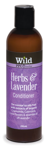 Wild PPC | Herbs and Lavender Hair Conditioner for Normal to Oily Hair- 250ml