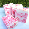 Image of Handmade Artisan Soap | Victorian Rose Soap for Sensitive Skin (Set of 2)