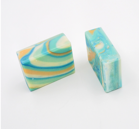 Handmade Artisan Soap | Goat Milk & Calendula Soap (Aid Eczema) (Set of 2)