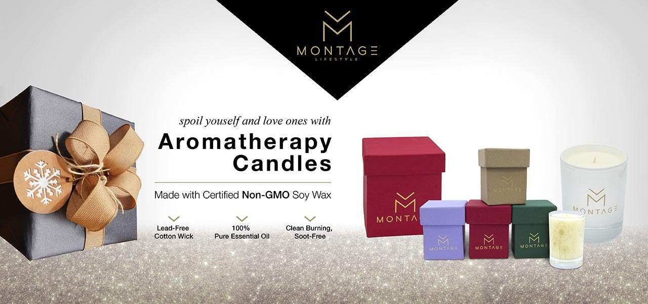 Montage Soy Wax Aromatherapy Candle