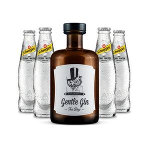Gentle Gin Tea Dry 0,5l + 4 x Thomas Henry Slim Tonic 0,2l