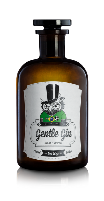Gentle Gin Tea Dry - World Cup 2018 Limited Edition - Brazil