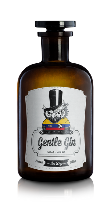 Gentle Gin Tea Dry - World Cup 2018 Limited Edition - Colombia