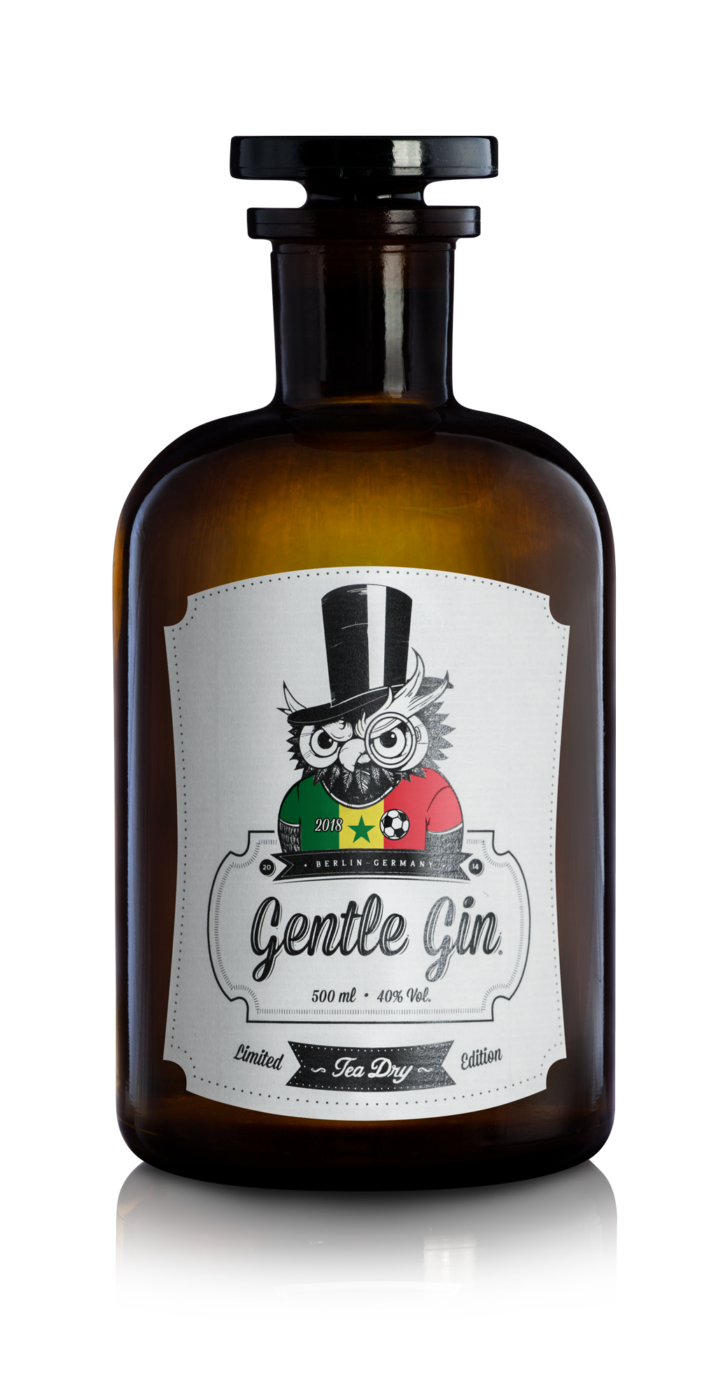 Gentle Gin Tea Dry - World Cup 2018 Limited Edition - Senegal