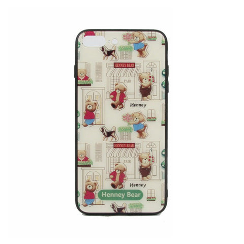 HP-003 FLORAL BEAR iPhone 7/8 Plus - Henney Bear