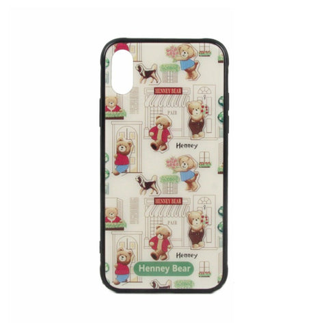 HP-003 FLORAL BEAR iPhone X - Henney Bear