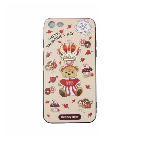 HP-009 CAKE BEAR iPhone 7/8 - Henney Bear