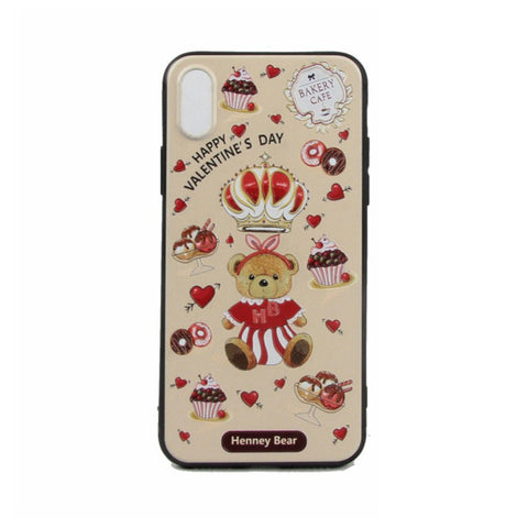 HP-009 CAKE BEAR iPhone X - Henney Bear