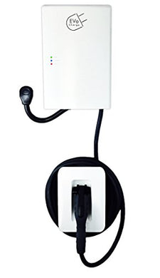 EVoCharge EVSE 30 Amp (7.2 kW) Level 2 EV Charger, Outdoor Rated, UL Safety Certified, 18 Ft. Cable with Connector Holster, Plug-in or Hardwire, 2yr Warranty, Charges up to 8X Faster than a Standard AC Level 1 Electric Vehicle Charging Station