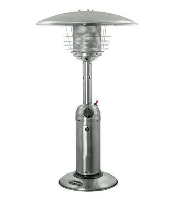 AZ Patio Heaters HLDS032-B Portable Table Top Stainless Steel Patio Heater, Stainless Finish