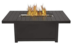 Napoleon St. Tropez Patio Flame Fire Table, Rectangular