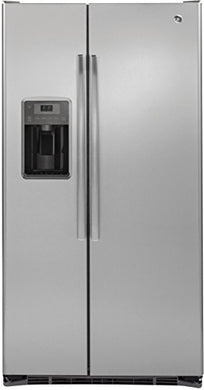 GE GZS22DSJSS 21.9 Cu. Ft. Stainless Steel Counter Depth Side-by-Side Refrigerator