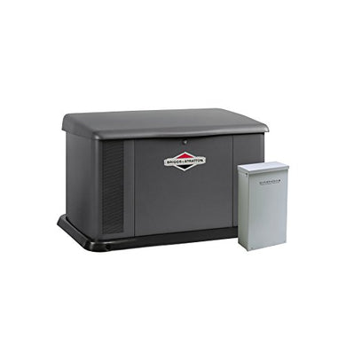 Briggs & Stratton 40484 20000-watt Home Standby Generator System with 150-Amp Automatic Transfer Switch