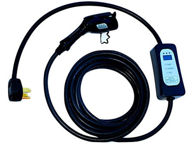 New Maxx-40 (40 amp - 9.6 kw ) Electric Vehicle Charger (220V-240V) with nema 14-50 Plug - 25 ft long - Level 2 - J1772 - EVSE - Color:Black