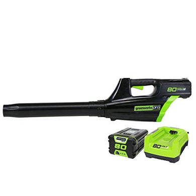 GreenWorks Pro GBL80300 80V 125MPH - 500CFM Cordless Blower, 2Ah Battery and Charger Included