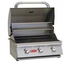 24'' Stainless Steel Built-In Propane Gas Barbecue Grill