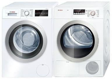 Bosch 500 Series Laundry Pair with WAT28401UC 24