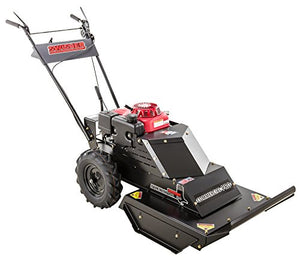 Swisher WHERC10224 10.2HP 12V Honda Commercial Pro Walk Behind Rough Cut, Black, 24""