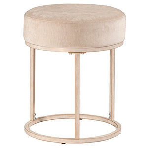 Swanson Vanity Stool In White
