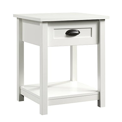 Sauder County Line Night Stand with Soft White Finish