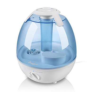 Ultrasonic Cool Mist Humidifier - Anypro Mist Humidifiers for Bedroom Ultra Quiet Air Humidifiers with 6 Optional Night Lights Multi Mist Modes Cool Mist Humidifiers for Baby Home, Filter Free, 3.5L
