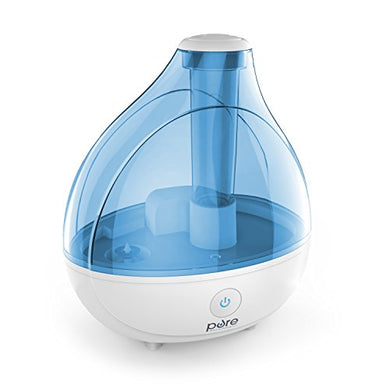 MistAire Ultrasonic Cool Mist Humidifier - Premium Humidifying Unit with Whisper-Quiet Operation, Automatic Shut-Off, and Night Light Function