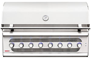 "AMERICAN MUSCLE GRILL 54"" BUILT-IN DUAL FUEL GRILL AMG-54"