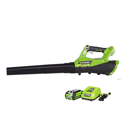 GreenWorks G-MAX 40V 110MPH - 390CFM Cordless Blower, 2Ah Battery & Charger Included