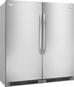 "Frigidaire 64"" Built-In All Refrigerator and All Freezer Combo with 18.6 cu. ft. Refrigerator and 18.6 cu. ft. Freezer in Stainless"