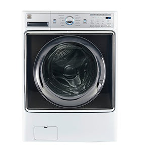 Kenmore Smart 41982 5.2 cu.ft. Front Load Washer with Accela Wash Technology in White - Compatible with Amazon Alexa, includes delivery and hookup (Available in select cities only)